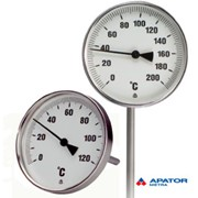 Термометр биметаллический TR , TU Apator Metra фото