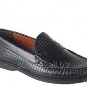 Туфли мужские 161-036, черный фото