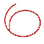 Тонкий неон красный 12V 8*16 мм 2835/120LED/м | 11W | 2160Lm (ip67) фото