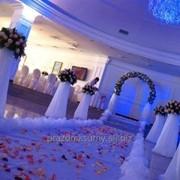 Декорирование Свадебной арки для выездной церемонии фото