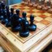 Шахматы, ручной работы фото
