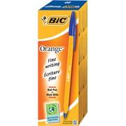 Ручка BIC Оранж Синяя,тонкая линия 20 шт фото