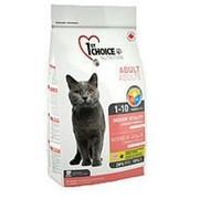Корм 1st Choice Indoor Vitality Фест Чойс для взрослых домашних кошек с курицей, 2,72 кг фото