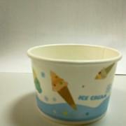 Упаковка для мороженого, Креманка бумажная для мороженого 175 мл фото
