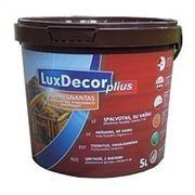 Пропитка для дерева Lux Decor 1л. фото