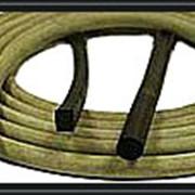 Шнуры резиновые уплотненительные круглые, трапецеидальные и прямоугольные фото