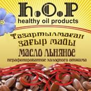 Льняное масло Омега-3 и Омега-6, 0,5 л. фото