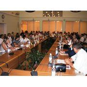 Организация проведение конференций фото