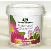 Гумат калия «Сахалинский» в гранулах для цветов комнатных и садовых фото