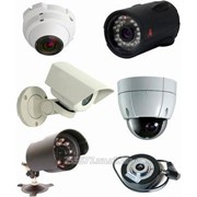 Монтаж систем видеонаблюдения и сигнализации фото