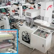 Станок для производства салфеток с цветной печатью фото