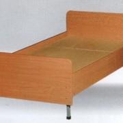 Кровать односпальная, двухспальная деревянная и латные сетка (Различных конструкций, матрас ватный, пружинный блок и другие)