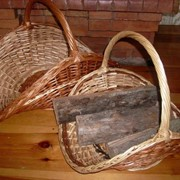 Корзина для дров фото