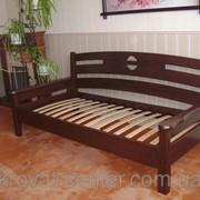 Диван-кровать Луи Дюпон (190\200*80\90\120) массив - сосна, ольха, дуб. фото