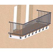 Перила и ограждения для балконов фото