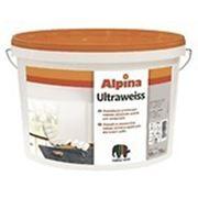 Краска Alpina Ultraweiss, 10 л. фото