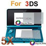 Защитная пленка протектор экрана для Nintendo 3DS (5 шт.) фото