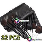 Набор косметических кисточек (32 шт) с сумочкой фото