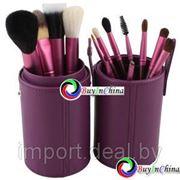 Набор из 13 кистей в удобном футляре (Purple) фото