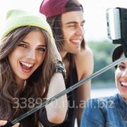Палка для селфи (монопод) Selfie Stick с кнопкой bluetooth фото