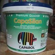 Краска на основе силиконовых смол CapaSilan 2,5 л. фото