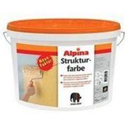 Краска акриловая фактурная Alpina Strukturfarbe Base 1 15кг фото