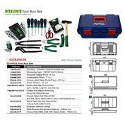 Автомобильный ящик с инструментом TOPTUL GCAZ0025. фото