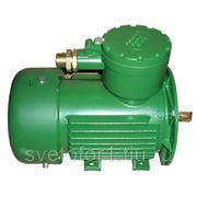 Электродвигатель взрывозащитный 0,55КВТх930 об/мин фото