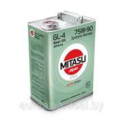 Масло трансмиссионное MITASU GEAR OIL GL-4 75W-90 Synthetic Blended 4л. фото