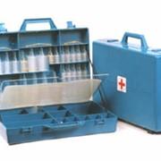 Укладка с набором инструментов и медикаментов для бригад скорой медицинской помощи. фото