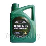 Моторное масло Hyundai/KIA Premium LS Diesel CH-4 5W30 4л фото