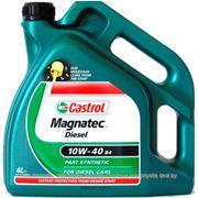 Castrol Magnatec Diesel 10W-40 B4 (4л) Масло моторное фото