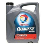 Масло TOTAL QUARTZ 7000 10W40, 5 литров фото