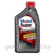 Моторное масло Mobil Super 5000 10w-40 0.946л фото