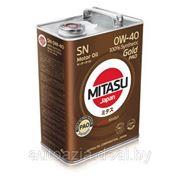 Масло моторное MITASU GOLD SN 0W-40 100% Synthetic 4л. фото