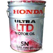 HONDA 08218-99977 SN 5W-30 (20L) ULTRA LTD фото