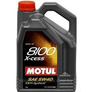 Масло мотроное Motul 5W40 8100 X-cess 5L фото