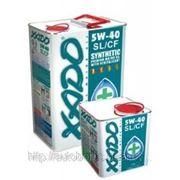 XADO Atomic Oil 5W-40 SL/CF, жестяная банка 4 л фото