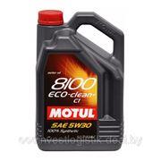 Масло моторное Motul 8100 Eco-clean+ 5W-30 C1 5L фото