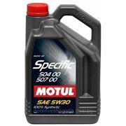 Моторное масло Motul 5W30 Specific VW 504.00-507.00 5L фото