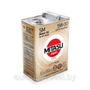 Масло моторное MITASU MOTOR OIL SM 5W-30 100% Synthetic 4л. фото
