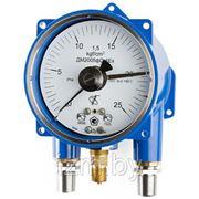 Вакуумметр сигнализирующий (электроконтактный) взрывозащищенный ФИЗТЕХ ДВ2005фСг1Ех 160 -100..0 кПа 1,5 кл.т. фото