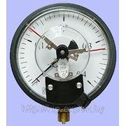 Технические электроконтактные манометры МТЭ-160, мановакуумметры МВТЭ-160 фото