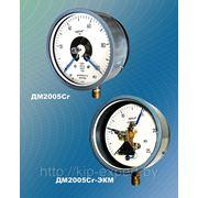 Манометры, вакуумметры и мановакуумметры показывающие сигнализирующие ДМ2005Сг, ДВ2005Сг и ДА2005Сг фото