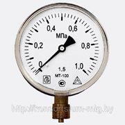 Манометр избыточного давления МТ-100 фото