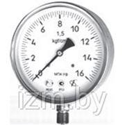 Мановакууметр технический ФИЗТЕХ МВП4-Уф ∅150 -0,1..0,5 МПа 1,5 кл.т. IP54 фото