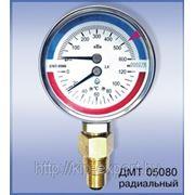 Манометры с термометром ДМТ фото