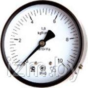 Мановакууметр технический ФИЗТЕХ МВП3-Уф ∅100 -0,1..0,3 МПа 1,5 кл.т. с осевым штуцером фото