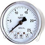 Мановакууметр технический ФИЗТЕХ МВП2-Уф ∅60 -0,1..0,5 МПа 2,5 кл.т. с осевым штуцером фото