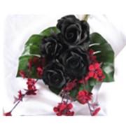 Романтические букеты из неувядающих натуральных роз. фото